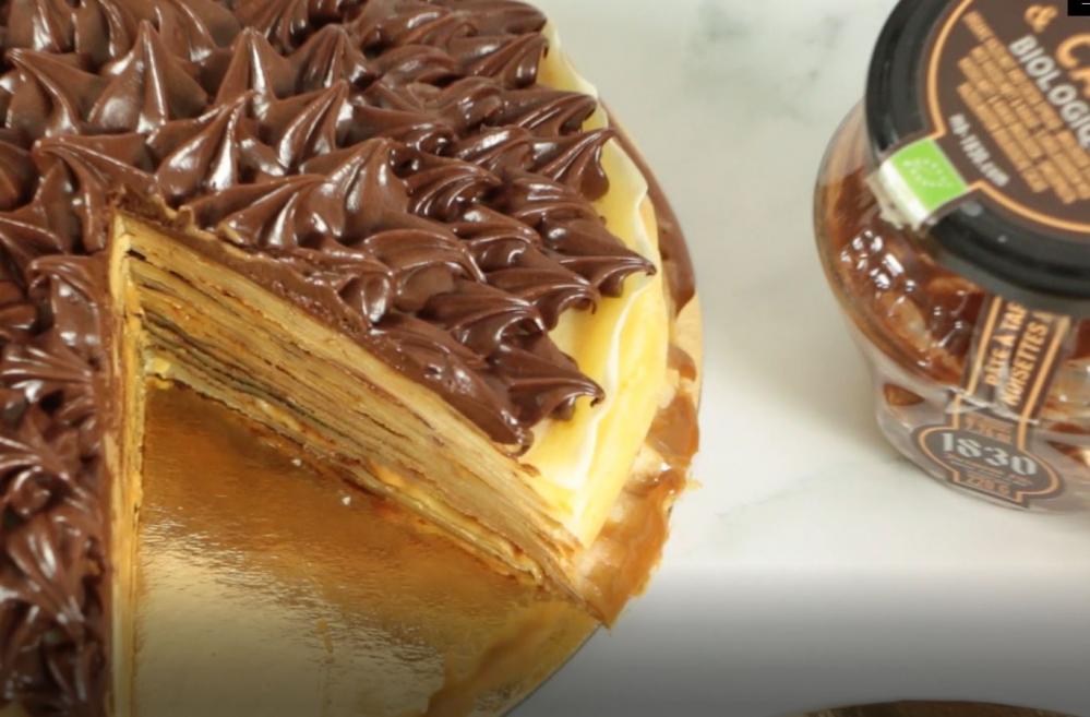 Recipe Gâteau de crêpes