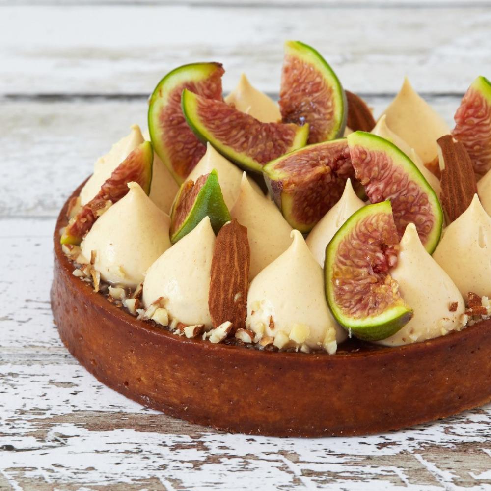 Recipe Tarte aux figues & aux amandes