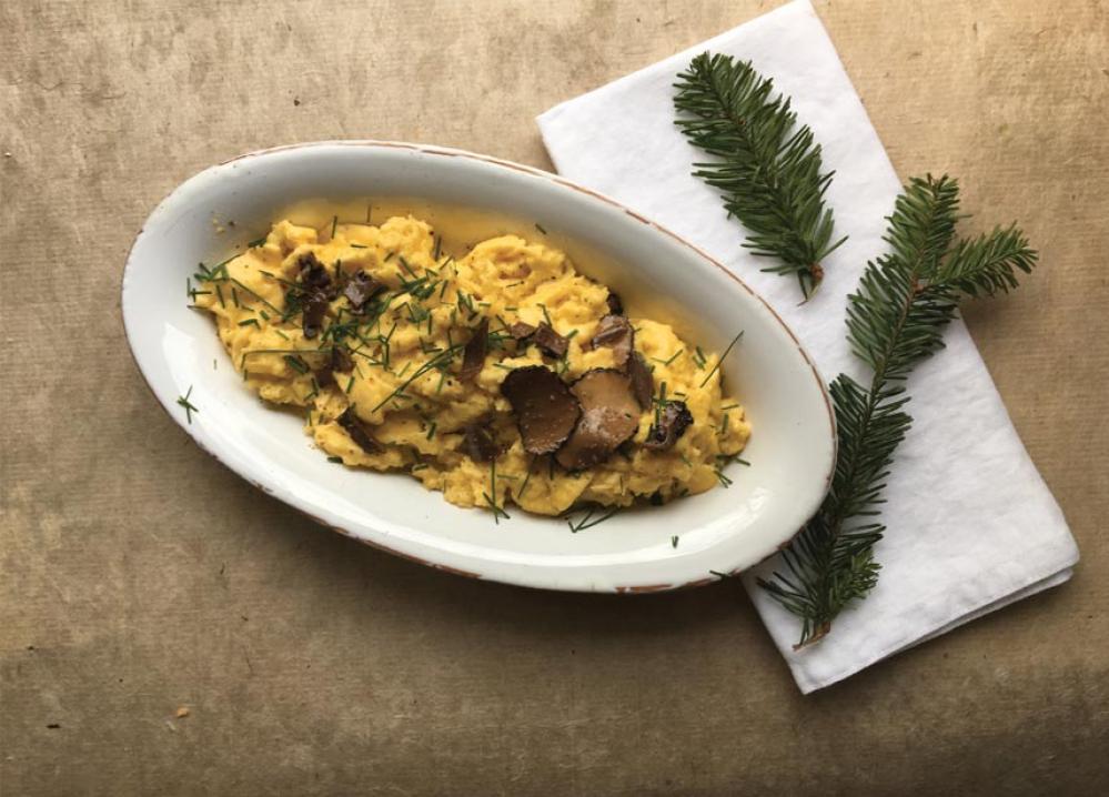 Recipe Brouillade à la truffe