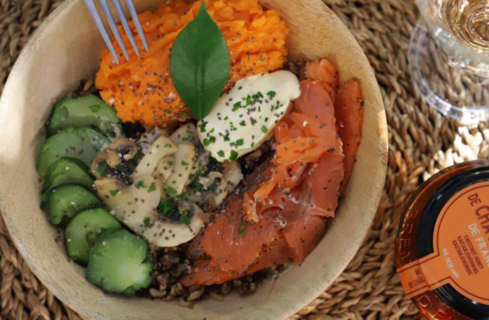 Recipe Poke bowl au saumon