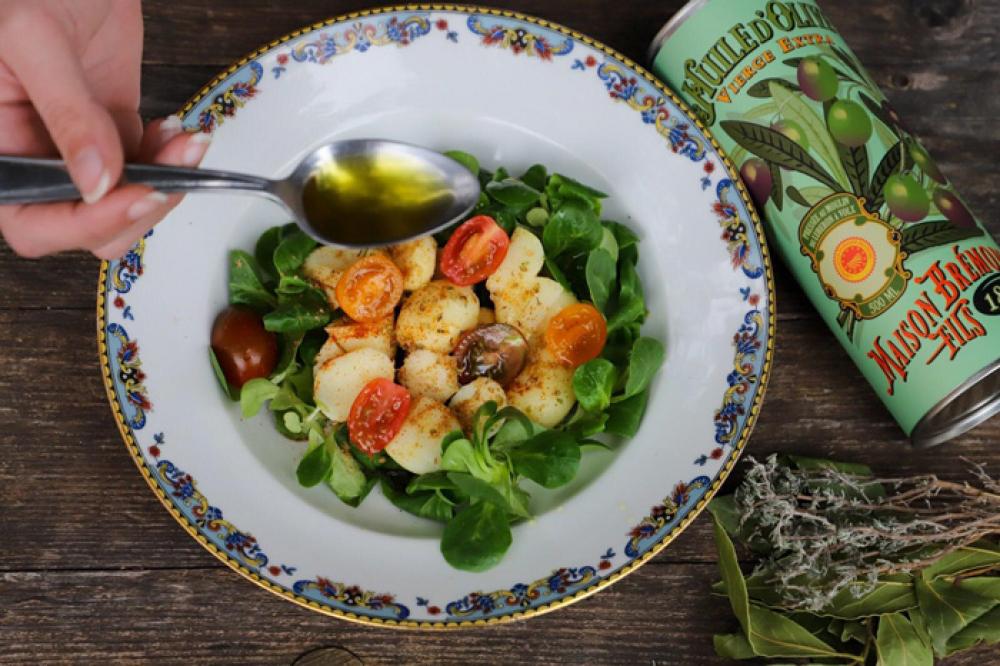 Recipe Salade de pomme de terre à l'huile d'olive Héritage fruité vert