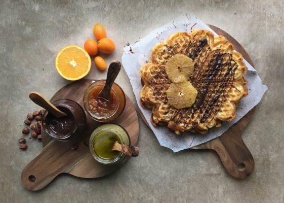 Recipe Bremond style waffles