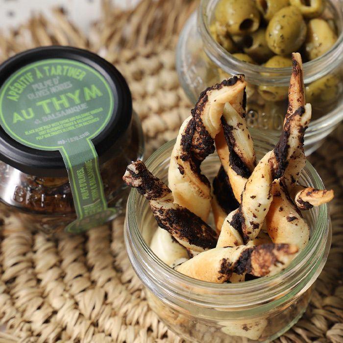 Recipe Torsade à la pulpe d'olives noires